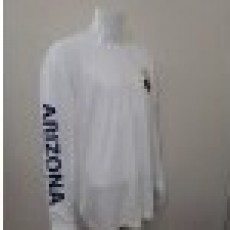 SALE!! White Long Sleeve Dri Fit (Sm, Med only)